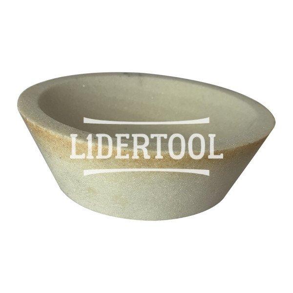 Круг шлифовальный чашка коническая ЗАК F46СМ 150х50х32, цена – 161.45 грн, фото №1
