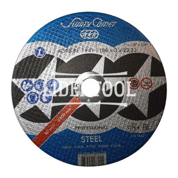 Круг отрезной SwatyComet Professional A30S BF 180*3,0*22,23, цена – 30.15 грн, фото №1