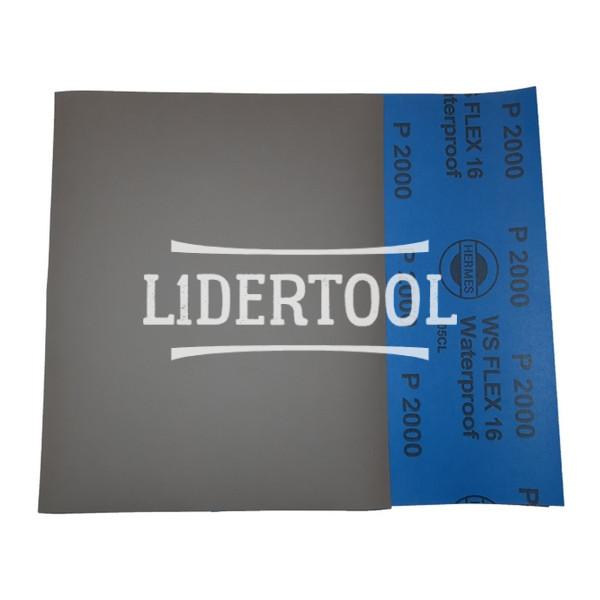 Шлифовальные листы Hermes WS Flex 16 230х280 P2000, цена – 11.00 грн, фото №1