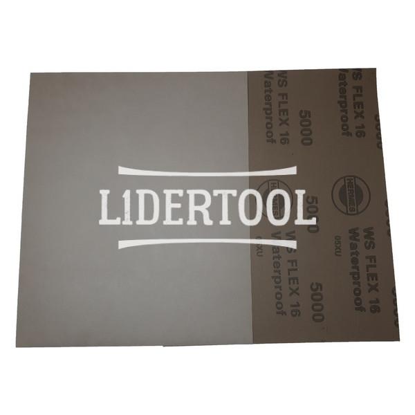 Шлифовальные листы Hermes WS Flex 16 230х280 P5000, цена – 11.00 грн, фото №1