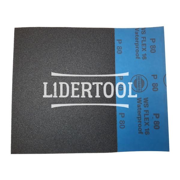 Шлифовальные листы Hermes WS Flex 16 230х280 P80, цена – 11.00 грн, фото №1