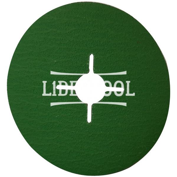 Фибровый диск Hermes CR 456 D125 Р60, цена – 30.00 грн, фото №1