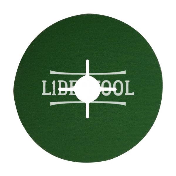 Фибровый диск Hermes CR 456 D125 Р80, цена – 28.56 грн, фото №1