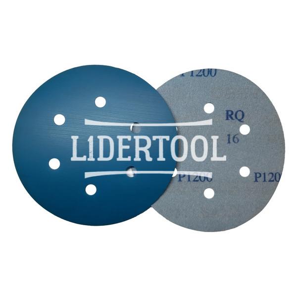 Диск самозацепной Deerfos SA 331 6 отверстий D 150 P1200, цена – 9.70 грн, фото №1