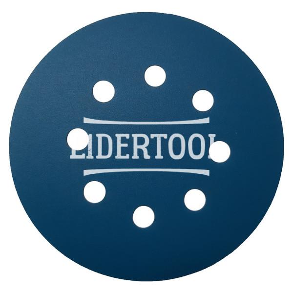 Диск самозацепной Deerfos SA 331 8 отверстий D 125 P320, цена – 7.93 грн, фото №1