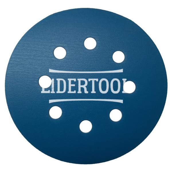 Диск самозацепной Deerfos SA 331 8 отверстий D 125 P400, цена – 7.93 грн, фото №1